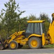 Big yellow digger — Stock Photo #2782011