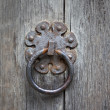 Old iron door handle — Stock Photo #2794677