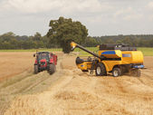 Harvesting barley 2 — Stock Photo