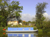 Narrow boat — Stock Photo