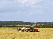 Crop spraying — Stock Photo