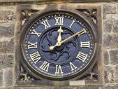 Ornamental clock — Stock Photo