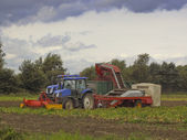 Potato harvester — Stock Photo