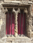 Mediaeval window — Stock Photo