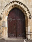 Mediaeval doorway — Stock Photo