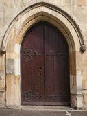 Mediaeval doorway — Stock Photo
