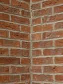 Brick corner — Stock Photo