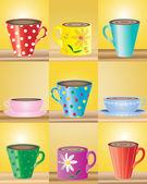 杯子 — 图库矢量图片