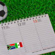 World Cup South Africa 2010 — Stock Photo