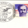 American independence postmark — Photo