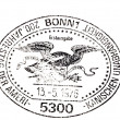 American independence postmark — Stock Photo