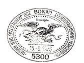 Amerikaanse onafhankelijkheid postmark — Stockfoto
