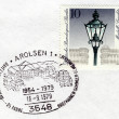 Arolsen special postmark — Stock Photo