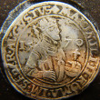 Stock Photo: Coins. Roma. Avgustus, 1570