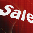 Sale, illustration - Stock Photo