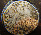 Monete. roma. avgustus, 1570 — Foto Stock