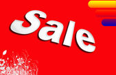 Sale. illustration — Stock Photo