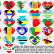 World_flag_EPS10 — Vettoriali Stock