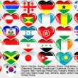 Royalty-Free Stock Vector Image: World_flag_EPS10