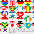 World_flag_EPS10 - Stock Vector