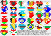 World_flag_eps10 — Vector de stock