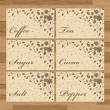 Royalty-Free Stock Immagine Vettoriale: Labels vintage vector set