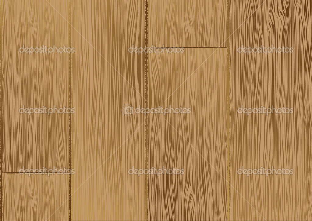 Brown wooden texture. Vector background for poster or card — Stock Vector #2780855