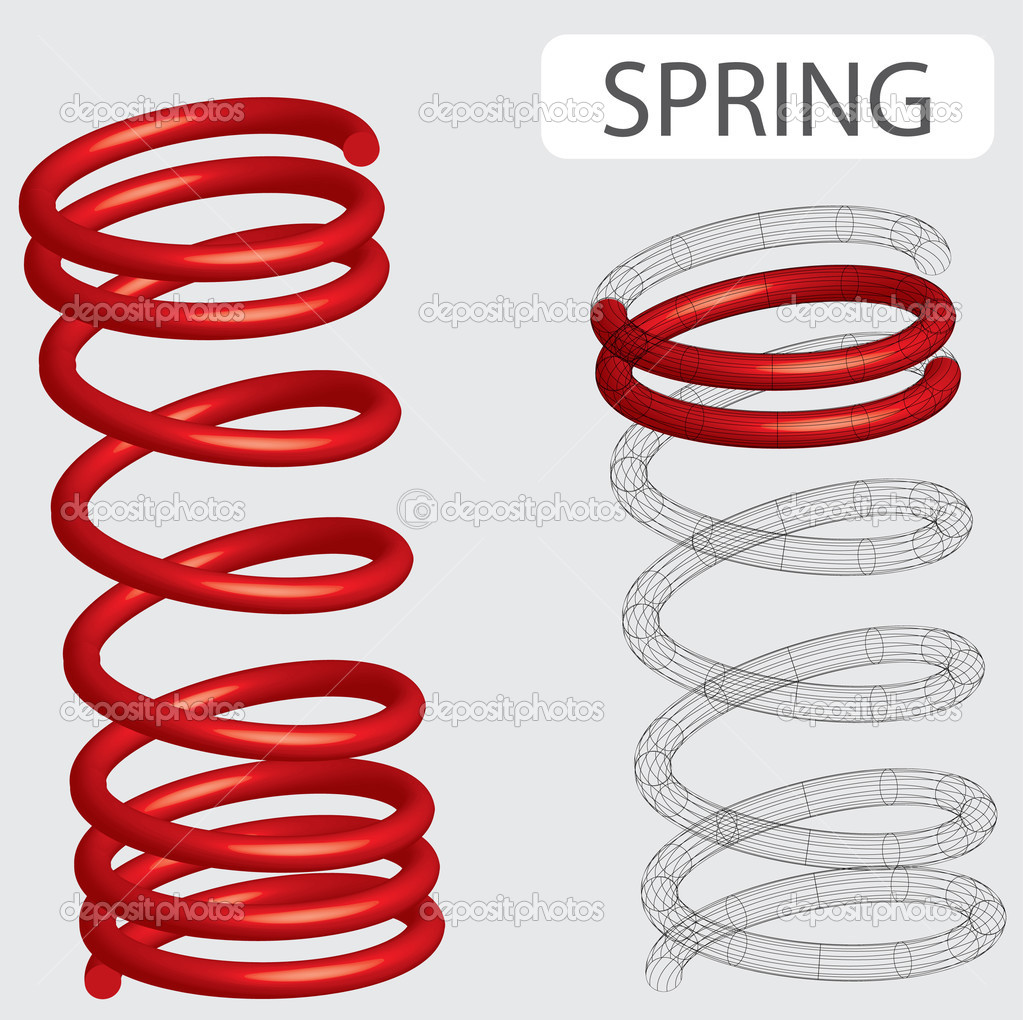 Search  Free download of Metal Spring vector graphics and