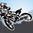 Motorcycle vector - Stock Vector