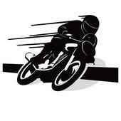 Motorcycle vector — Stock Vector