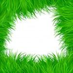 Grass vector pattern background — Stock Vector