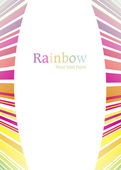 Rainbow abstract background line vector — Stock vektor