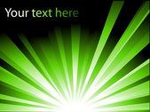 Green vector background — Stockvector