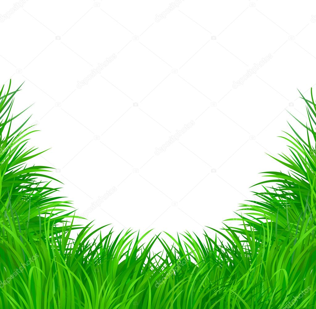 Grass vector pattern background for poster  Stock Vector #3599822