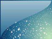 天の川の星のベクトルの背景 — ストックベクタ