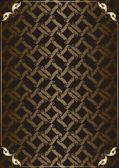 Vettore sfondo vintage per la copertina del libro — Vettoriale Stock