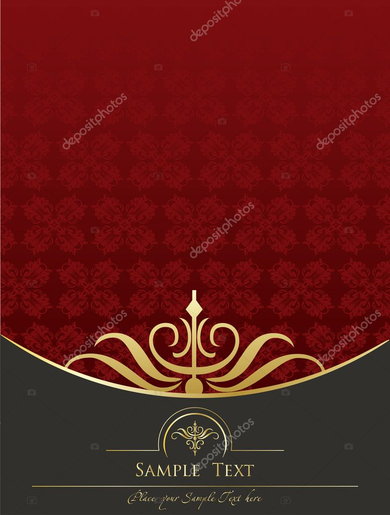 Vintage background vector for book cover for poster — Stock Vector #3626169