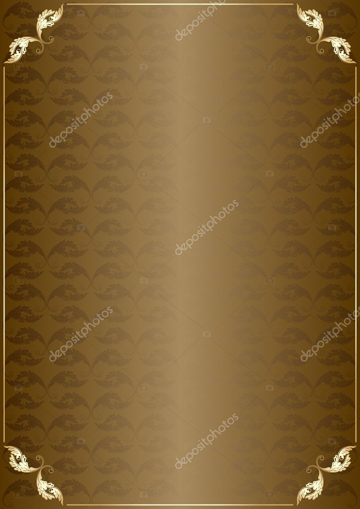 Vertical vintage background for Book cover vector for poster — Stock Vector #3627536