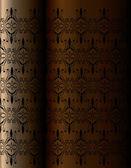 Verticale vintage achtergrond voor boekomslag — Stockvector