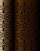 本の表紙の垂直ビンテージ背景 — ストックベクタ