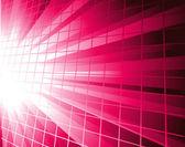 Pink burst vector background — Stock Vector