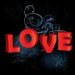 Love vector background — Stock Vector #3657623