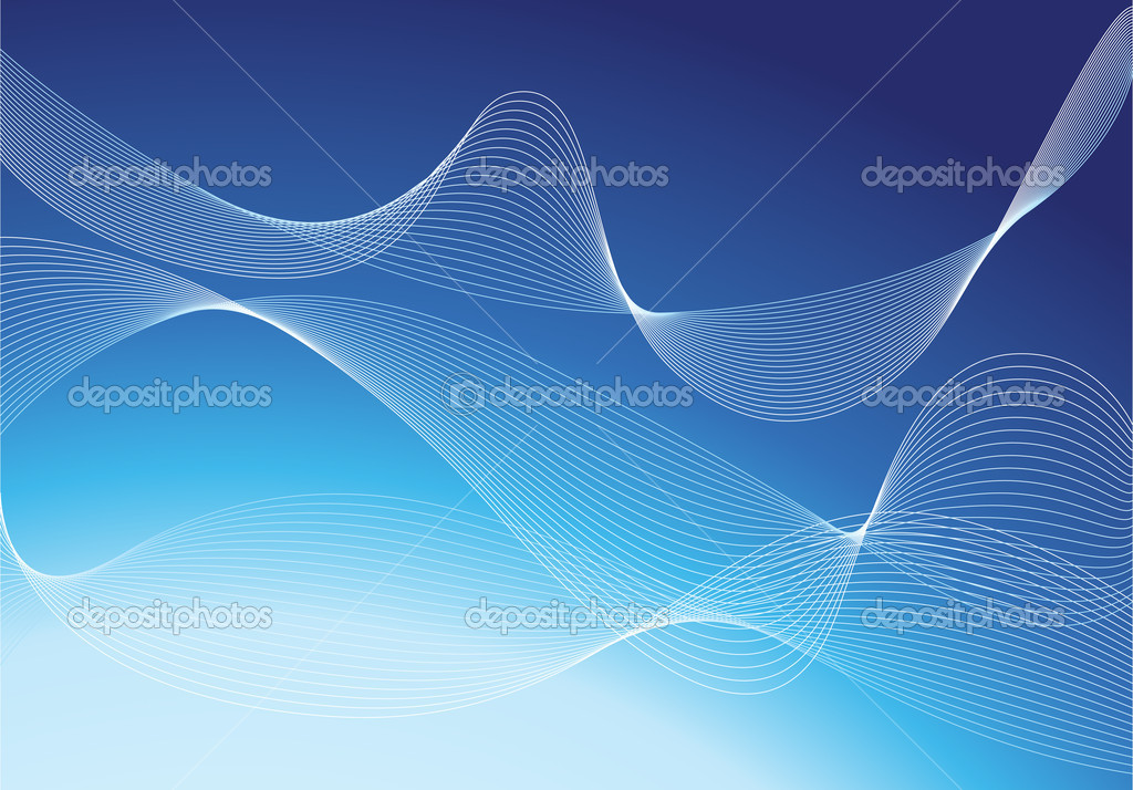 Poster Blue Background Blue Background Design For