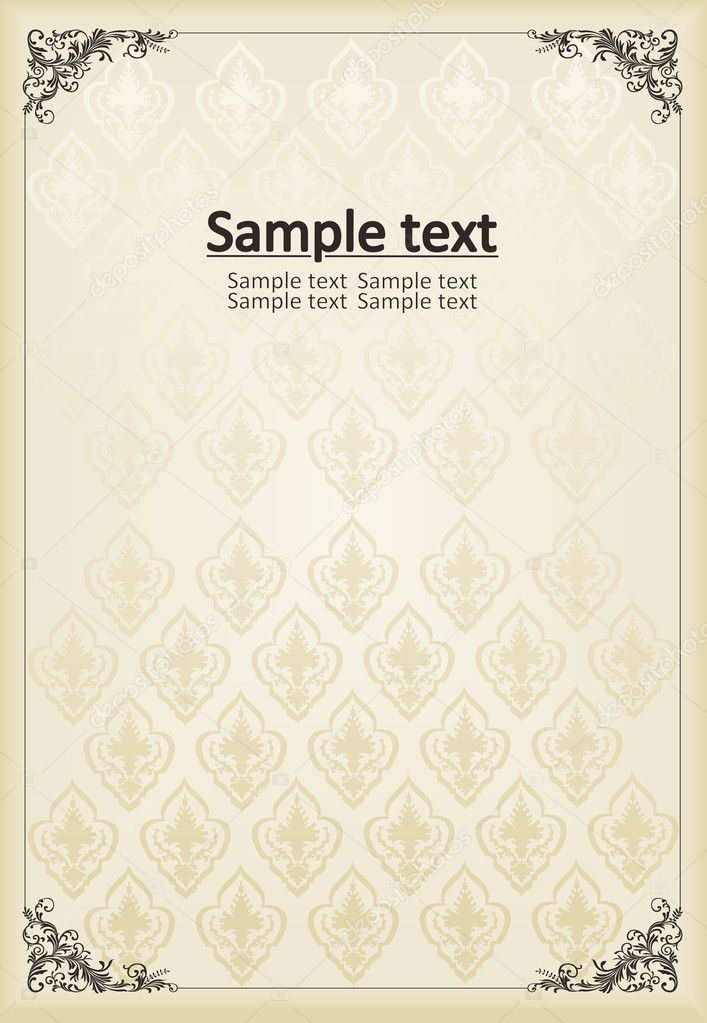 Book Cover Background Jobs ~ Vintage background for book cover vector — stock