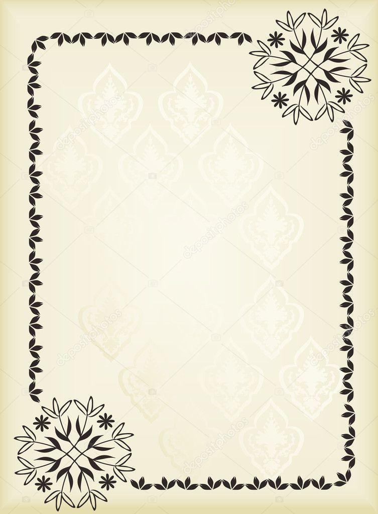 Book Cover Background Questions ~ Старинный фон для векторных Обложка книги — Векторное