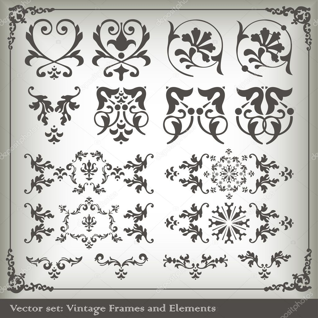 Vertical vintage background for Book cover vector for poster — Stock Vector #3839549