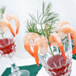 Elegant shrimp cocktail — Stock Photo #2705807
