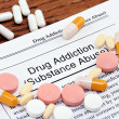 Drug Addiction and pills - 