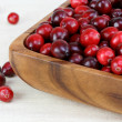 Fresh healthy cranberries — Stock Photo #2705820
