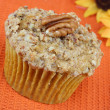 Stock Photo: PecPumpkin Muffin